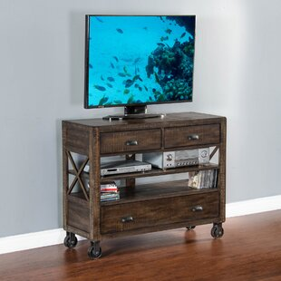 Gracie Oaks Norson 3 Drawer Media Dresser