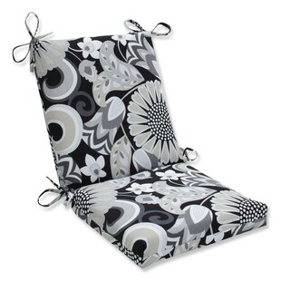 Sisneros Squared Corner Indoor/Outdoor Dining Chair Cushion