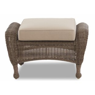 Brody Outdoor Ottoman with Cushion by August Grove