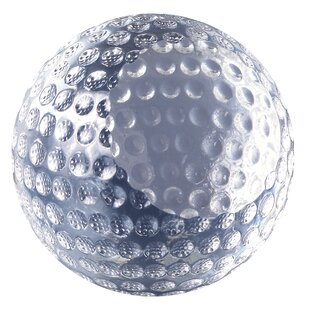 Golf Ball Award Paperweight by Chass