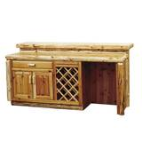 Lytle Bar with Wine Storage by Loon Peak