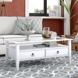 Swansea Coffee Table With Storage By Breakwater Bay