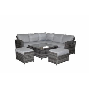 Gabrielle Garden Corner Sofa With Cushions By Sol 72 Outdoor