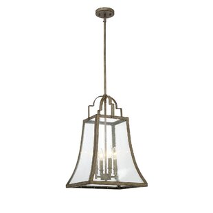Laurel Foundry Modern Farmhouse Montvert 4-Light Foyer Pendant