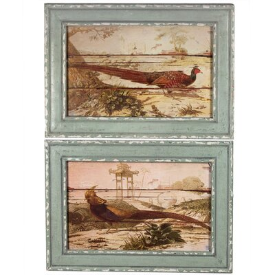 2 Piece Wooden Wall Decor Set