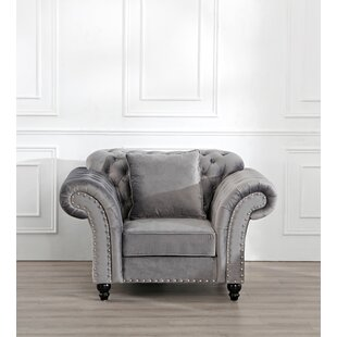 Weston Chesterfield Chair By Ophelia & Co.