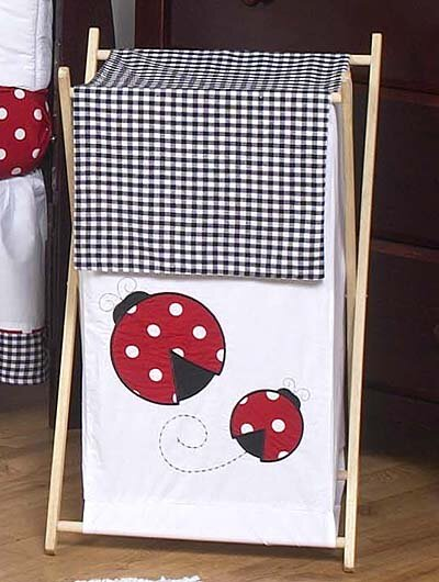 Little Ladybug Laundry Hamper