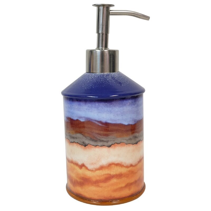 Union Rustic Wilk Desert Dream Soap And Lotion Dispenser Wayfair