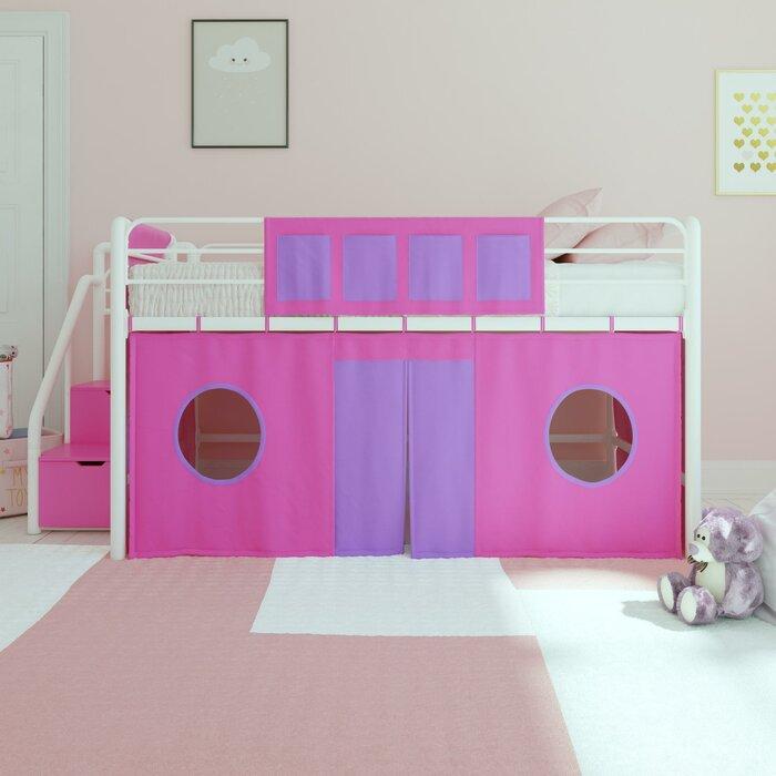 Zoomie Kids Seekonk Curtain Set Bunk Bed Accessory Wayfair Ca