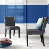 Murray Hill Upholstered Dining Chair (Set of 2) by Hashtag Home