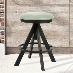 Derryberry Adjustable Height Swivel Bar Stool Brayden Studio