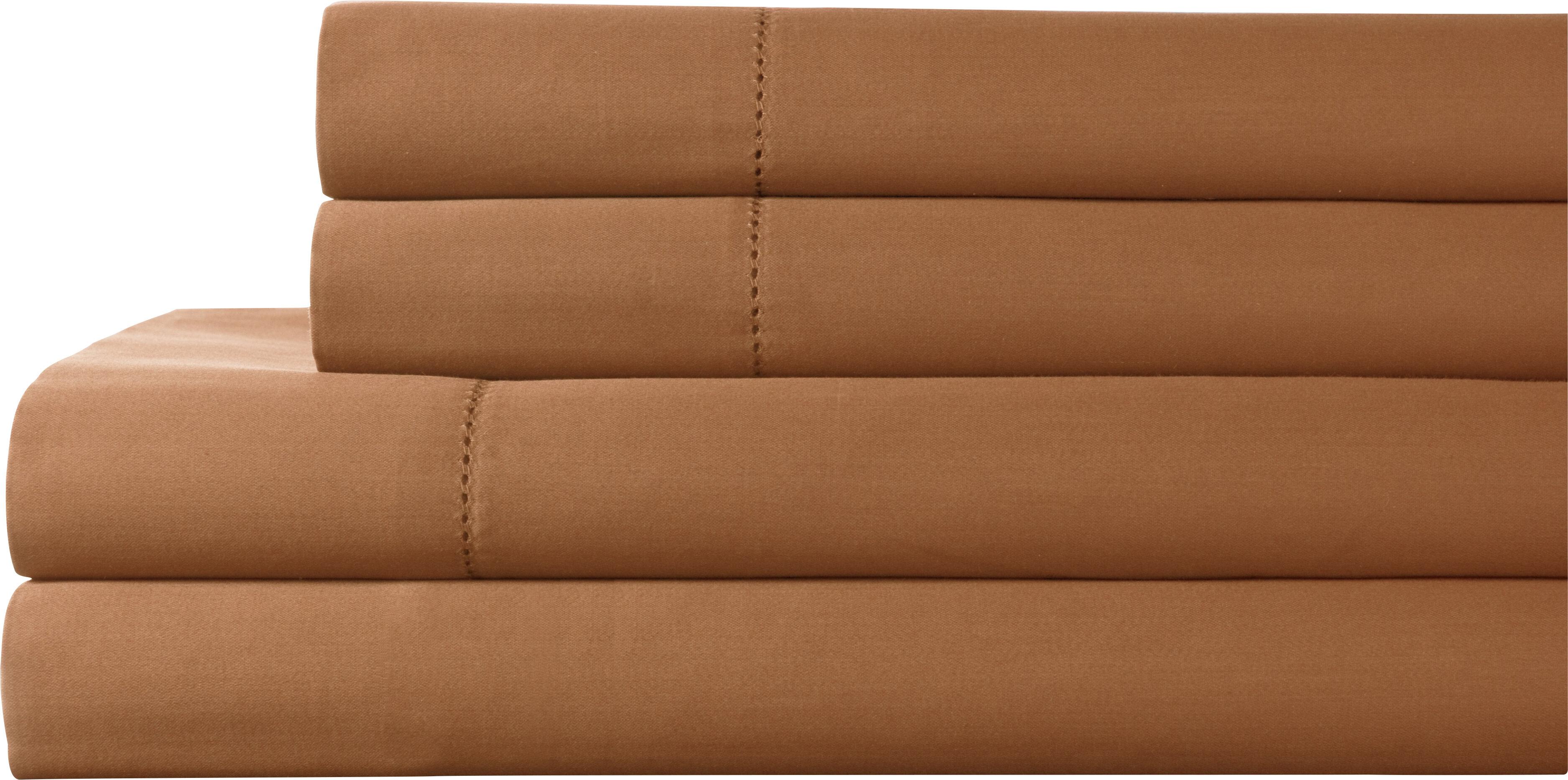 8b6b51788a6 Elite Home Products Tuxedo 325 Thread Count 100% Pima Cotton Sheet Set    Reviews