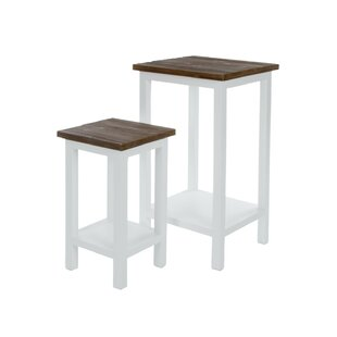 Flower Plant Stand (Set Of 2) By August Grove