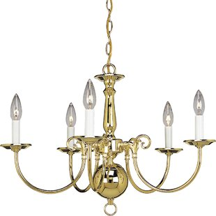 Doyle Traditional 5-Light Chandelier