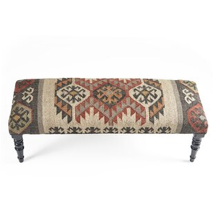 Union Rustic Kyle Upholstered Bench
