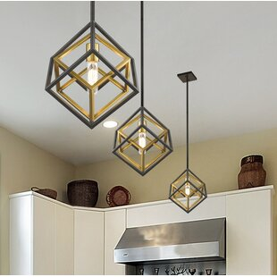 Brayden Studio Pederson 1-Light Geometric Pendant
