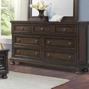 Alcott Hill Guyton 7 Drawer Double Dresser
