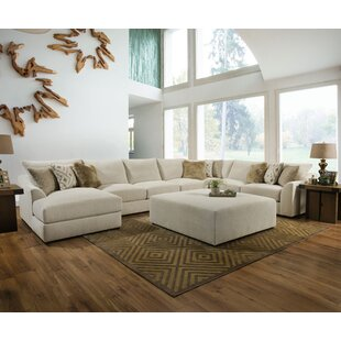 Everly Quinn Ipswich Modular Sectional with Ottoman