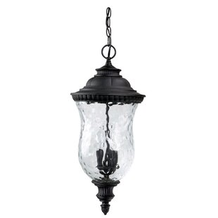 Watts 3-Light Outdoor Hanging Lantern