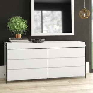 Mcduffy 6 Drawer Double Dresser