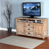 Herman Solid Wood TV Stand for TVs up to 65 by Loon Peak®
