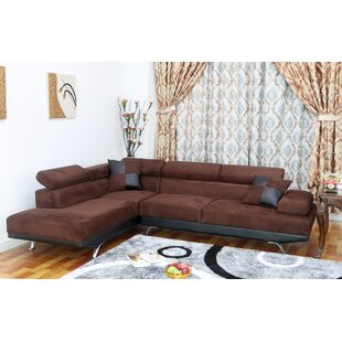 Shop Damos Reclining Sectional by Latitude Run