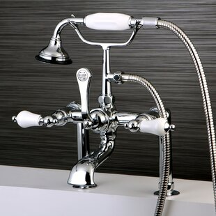 Kingston Brass Vintage Deck Mount Clawfoot Tub Faucet