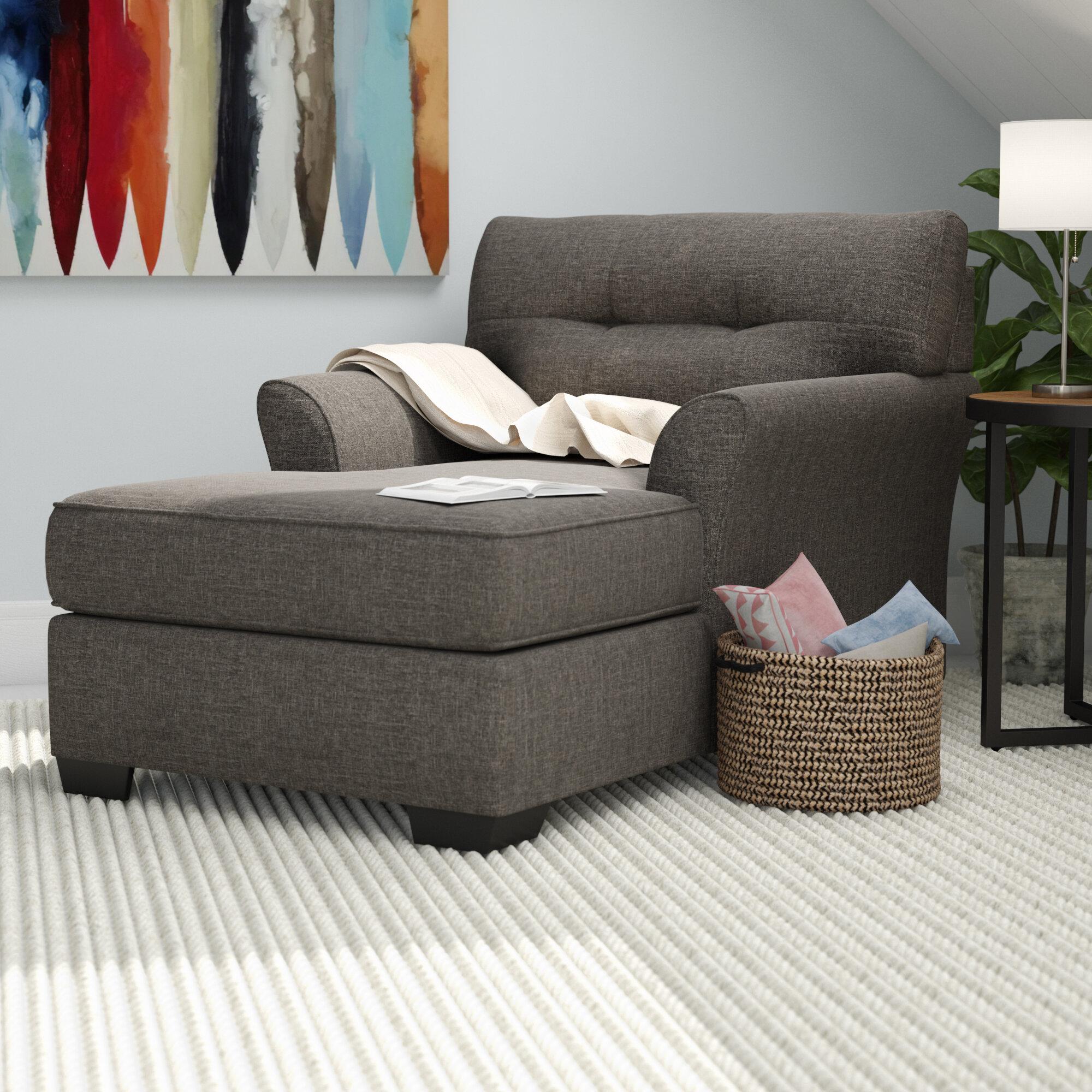 Andover Mills Ashworth Chaise Lounge U0026 Reviews | Wayfair