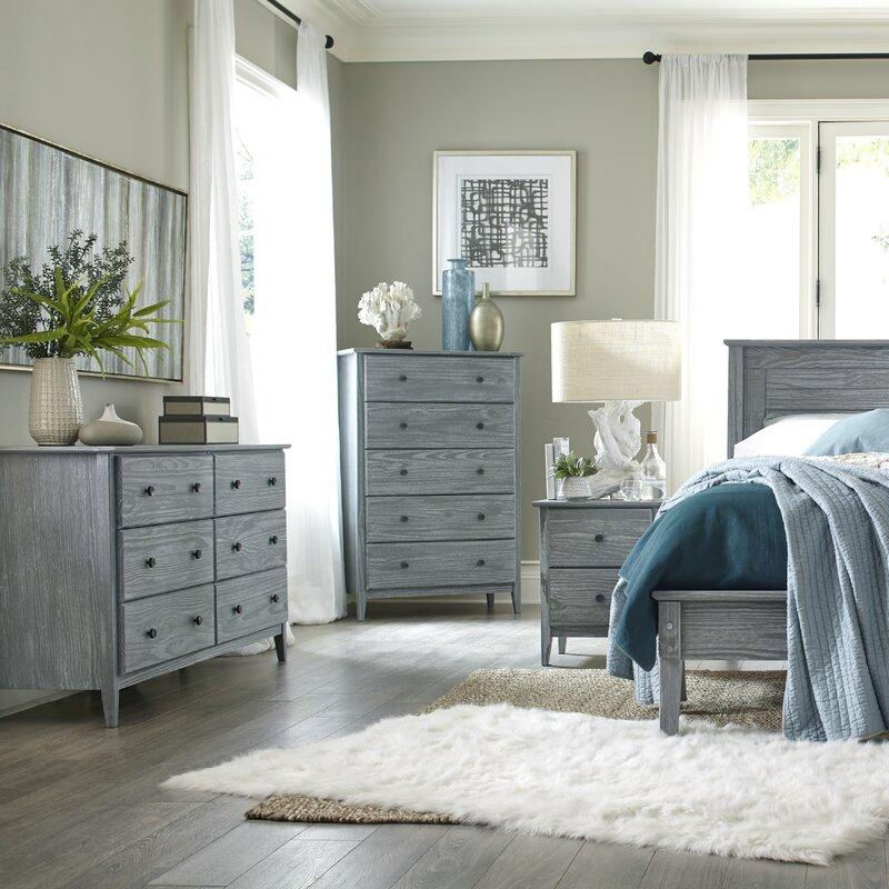 Grain Wood Furniture Greenport Queen Platform Configurable Bedroom ...