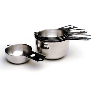 Cleckheat 6 Piece Stainless Steel Nesting Measuring Cup Set