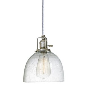Breakwater Bay Shumway 1-Light Dome Pendant