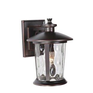 Irasville 1-Light Outdoor Wall Lantern by Longshore Tides