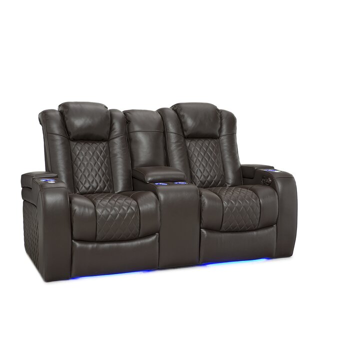 Prime Leather Home Theater Loveseat Spiritservingveterans Wood Chair Design Ideas Spiritservingveteransorg