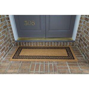 Frances Charleston Border Double Door Doormat