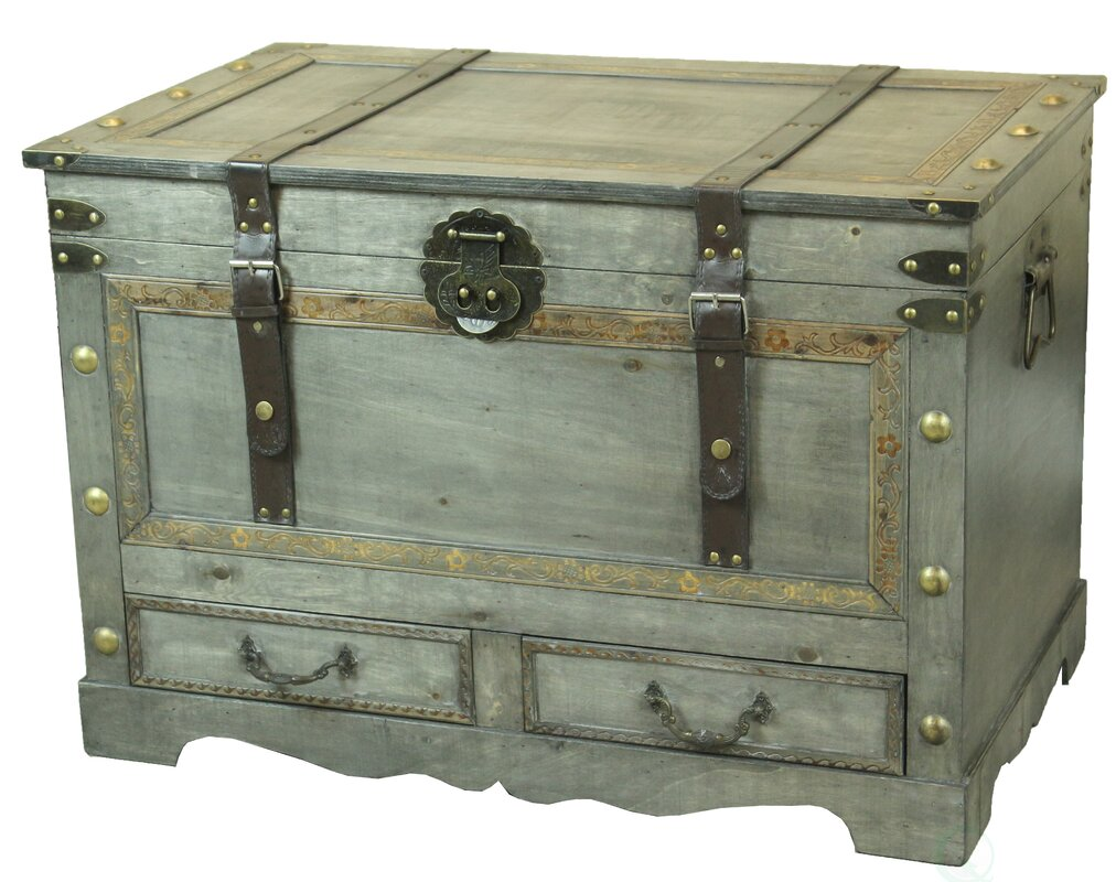 Williston forge alida rustic large wooden coffee table trunk alida rustic large wooden coffee table trunk geotapseo Image collections
