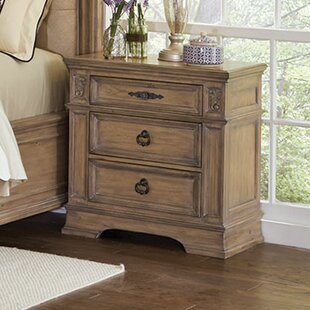 George 3 Drawer Nightstand by One Allium Way
