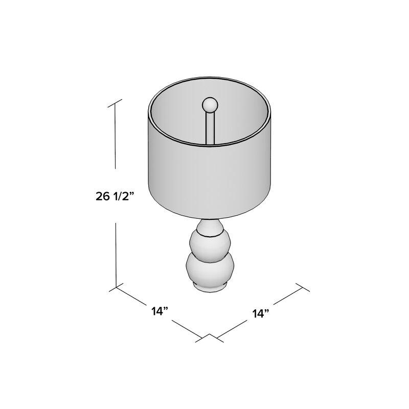 mercury row miltiades 26 5 table lamp reviews wayfair rh wayfair com Lamp Socket Wiring Diagram Table Lamp 3-Way Switch Diagram