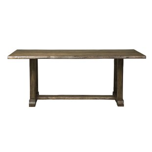 Top Reviews Ogan Solid Wood Dining Table By Loon Peak