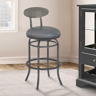 Meggie 26 Swivel Bar Stool 17 Stories