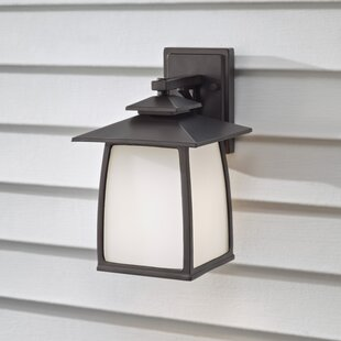 Find Bridgwater 1-Light Outdoor Wall Lantern By Darby Home Co