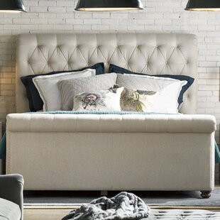 Robin Upholstered Sleigh Bed by Birch Lane™ Heritage