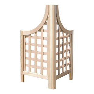 Buyers Choice 2 Piece Phat Tommy Andover Wood Lattice Panel Trellis