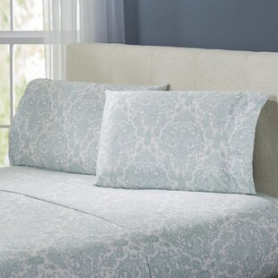 Fresnay Damask 300 Thread Count 100% Cotton Sheet Set