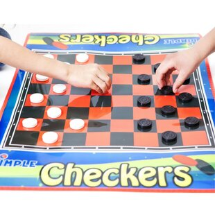 Jumbo Checkers Board By Dimple