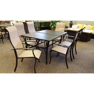 Lyusha 7 Piece Dining Set by Red Barrel S..