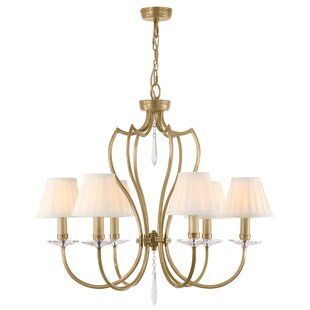 Rosdorf Park Briawood 6-Light Shaded Chandelier