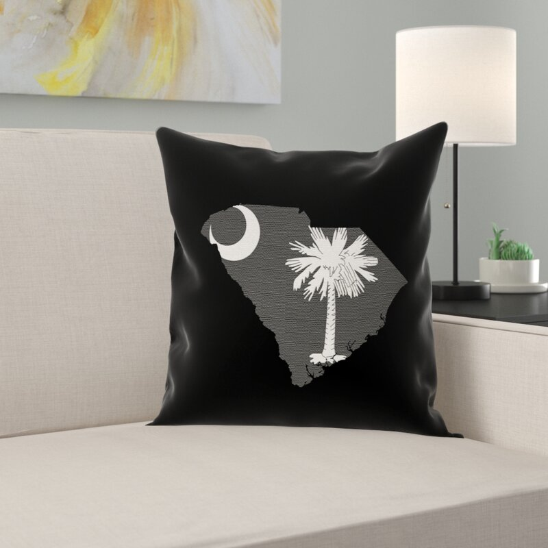 East Urban Home South Carolina Flag Euro Pillow Wayfair