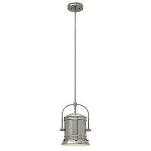 Breakwater Bay Warfield 1-Light Bell Pendant