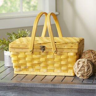 Woodchip Picnic Basket