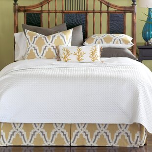 Autry Button-Tufted Comforter by Eastern Accents